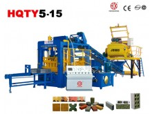 QT5-15 concrete brick machine