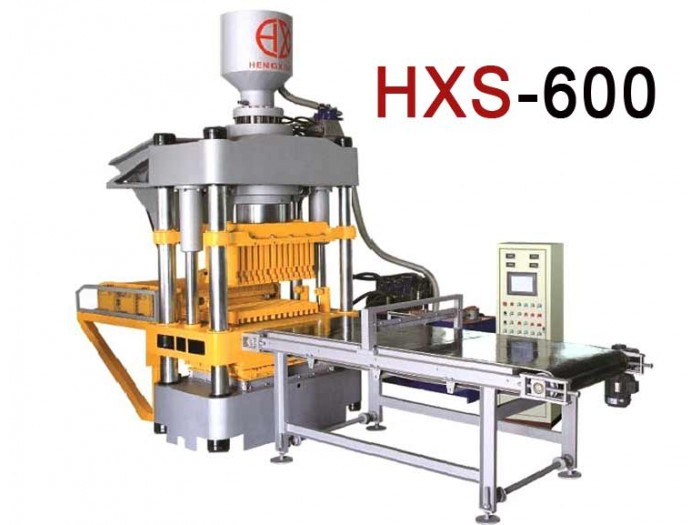 HXS600 Fully Automatic Double Press Block Making Machine